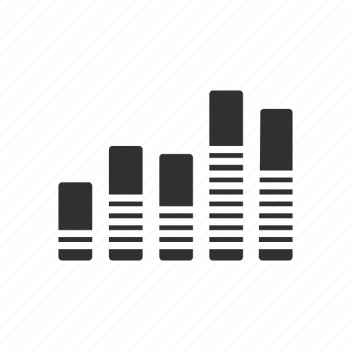 bar chart, bar graph, graph, report icon