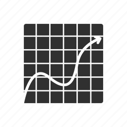 analytics, graph, line graph, statistics icon