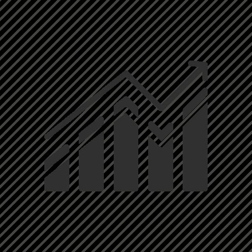 bar chart, bar graph, graph, statistic icon