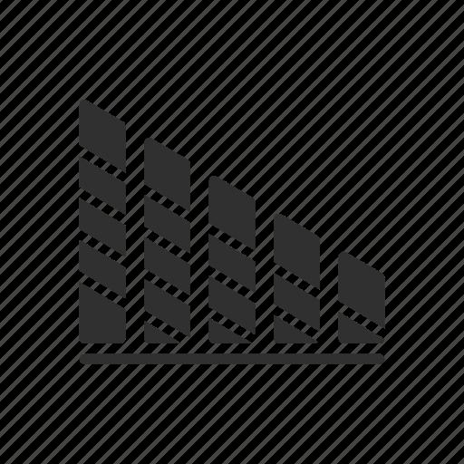 bar chart, bar graph, graph, statistics icon