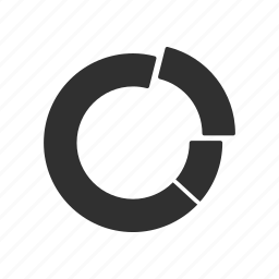 chart, circle chart, circle graph, pie chart icon