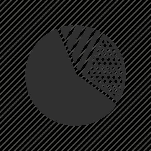analytics, chart, circle, pie chart icon