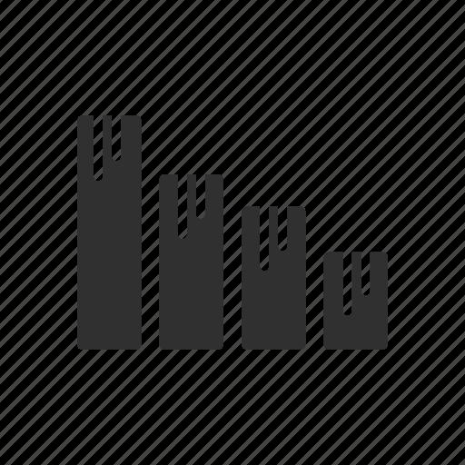analysis, bar, bar graph, statistics icon