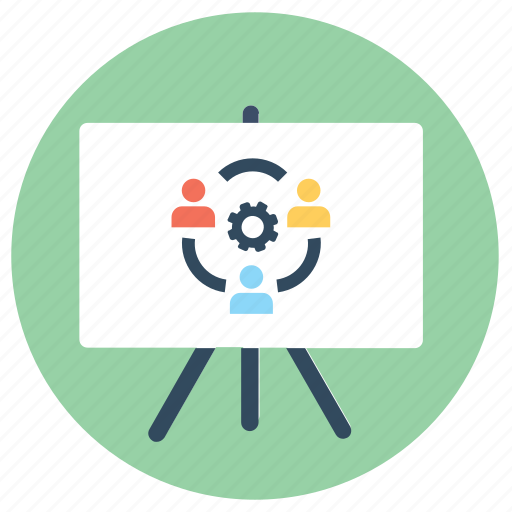 co, management, presentation, productivity, teamwork, workforce, working icon