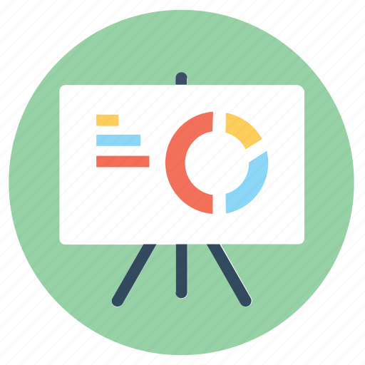 analysis, business data, data, presentation, report icon