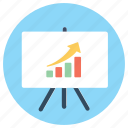 business graph, business growth, finance, growth, increase, presentation, profit icon