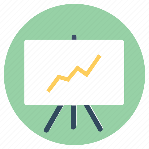 analytics, business presentation, finance, graph, sales, sales chart icon