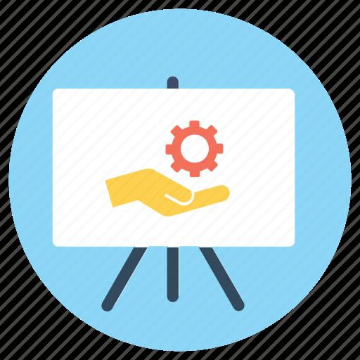 business presentation, business service, seminar, service, workshop icon
