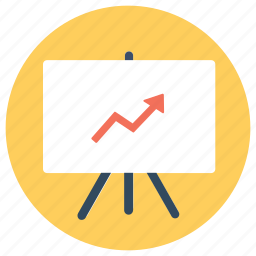 business results, finance, graph, growth, productivity, sales, success icon