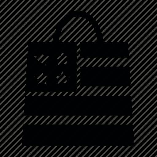 bag, day, flag, presidents, usa icon