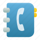 address, addressbook, contact, contacts, phonebook icon