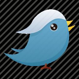 animal, bird, communication, media, social, social media, twitter icon