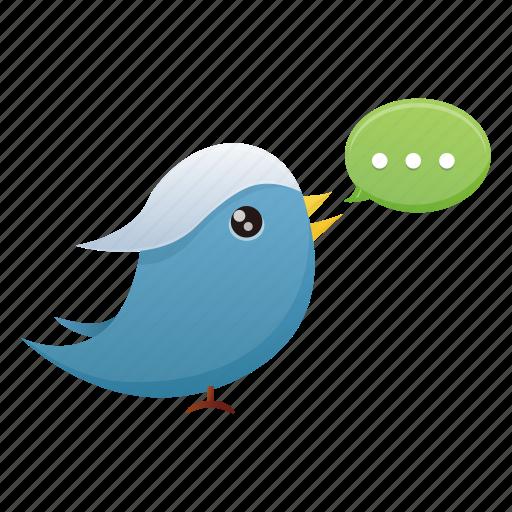 bird, communication, media, social, social media, tweet, twitter icon