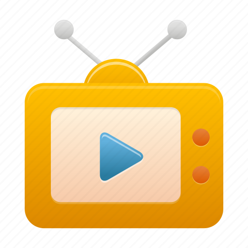 media, multimedia, play, tv, tv play, video icon