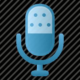 audio, microphone, sound, speaker icon