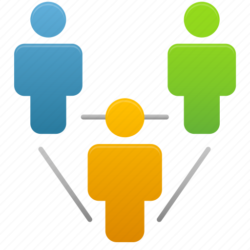 client, clients, group, human, relationship, user, users icon