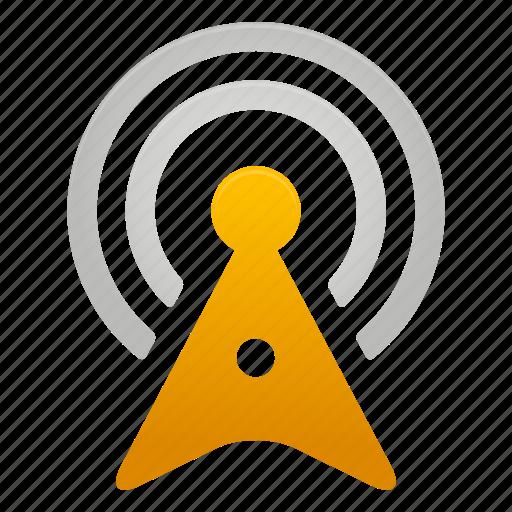 internet, signal, tower, wifi, wireless icon