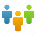 business, group, human, people, team, user, users icon