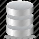 database, data, basic icon