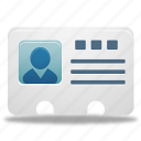 contact, user infomation icon