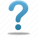 faq, help, question icon