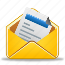 already, email, message, read icon