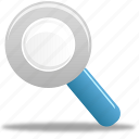 magnifier, magnify, search icon