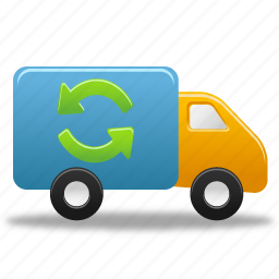 autoship, truck icon