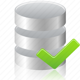 accept, check, data, database icon