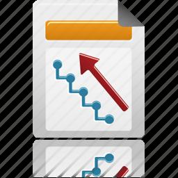 document, file, upline icon
