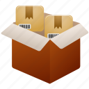 packing, products icon