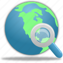 globe, search