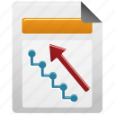document, file, upline icon