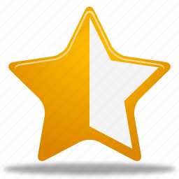 full, half, star icon