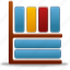 book, books, library icon