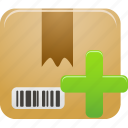 add, package, product icon