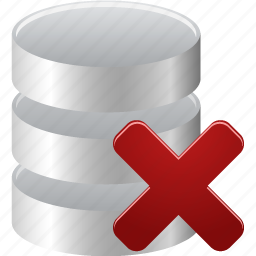 From Delete Data Remove Database Icon