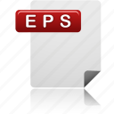 eps file, document, eps, file, sheet, format, file type icon