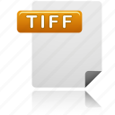 document, file, tiff, tiff file icon