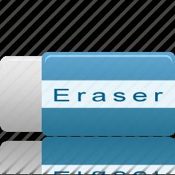 clear, eraser, remove icon