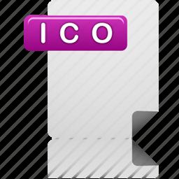 document, file, ico, ico file icon
