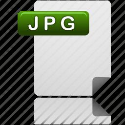 document, file, jpg, jpg file icon