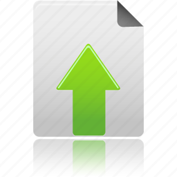 document, file, upload icon