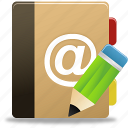 addressbook, edit, edit addressbook, edit phonebook, phonebook icon