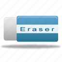 clear, eraser, remove icon