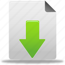 document, download, download file, file icon