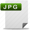 document, jpg, jpg file icon