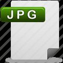 document, jpg, jpg file icon