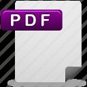 pdf, document, pdf file, file