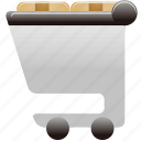 cart, full, shopping, shopping cart, shoppingcart icon